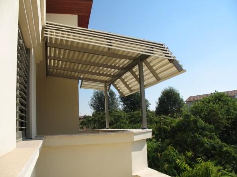 פרגולות אלומיניום - פרגולות לדירות גג - פרגולה -דירות גג