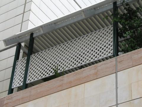 פרגולות אלומיניום - פרגולות לדירות גג - פרגולה לדירות גג
