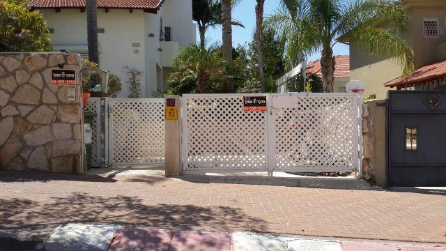 שערים - שערים דגם רשת אייל - שער דגם רשת