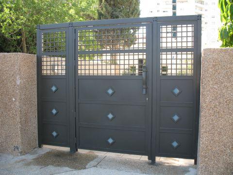 שערים - שערים דגם רשת אייל - שער כניסה