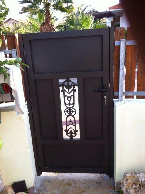 שערים - שערים דגם יציקות - שער דגם אטום שובך יונים