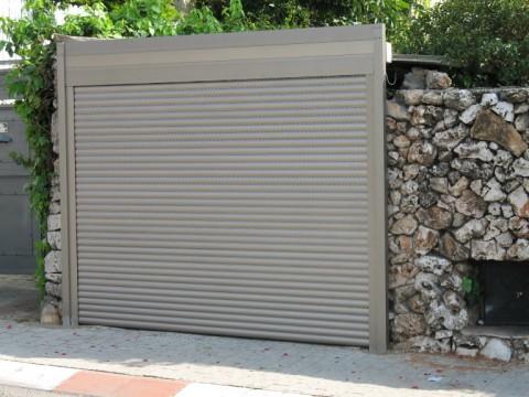 שערים - שערים דגם גלילה - שערים חשמליים