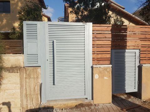 שערים - שערים / דלתות שירות - דלת שירות הייטק אטום