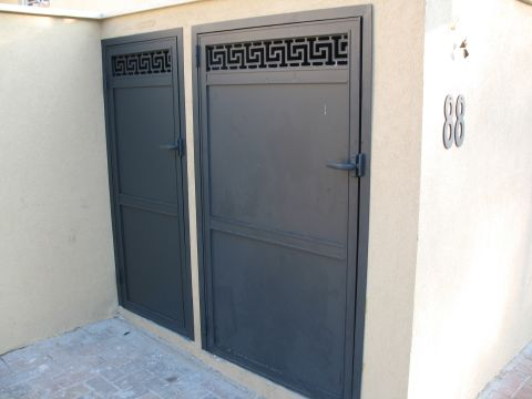 שערים - שערים-פרזול - שער נפחות מעוצב