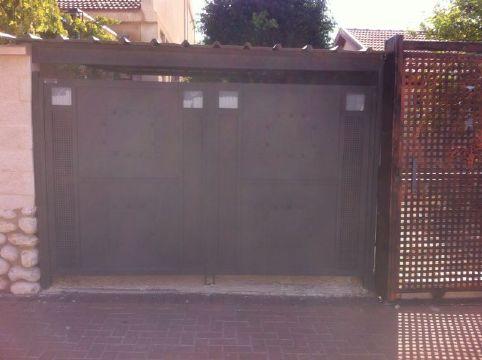 שערים - שערים -  דגם אטום - שער דגם אטום