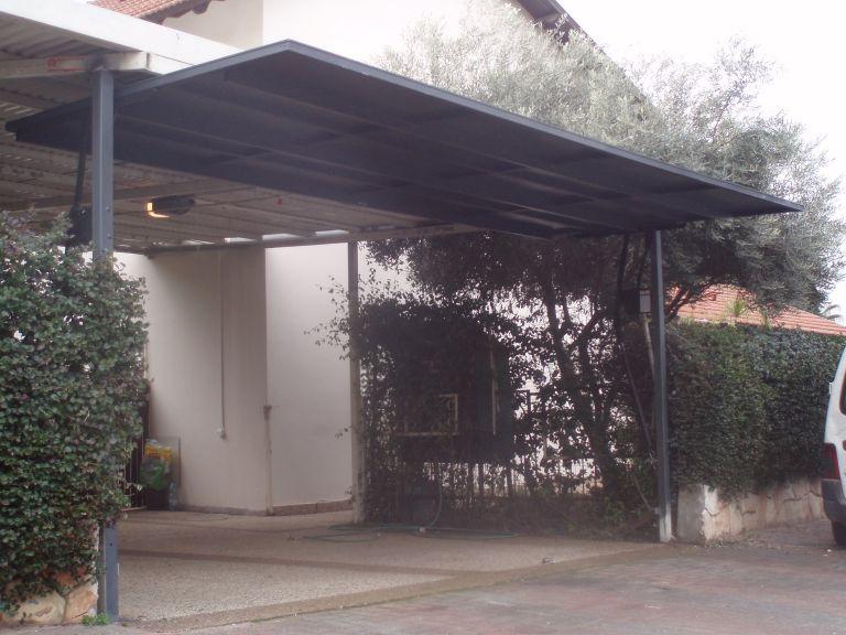 שערים - שערים -  דגם אטום - שערים - שער חניה