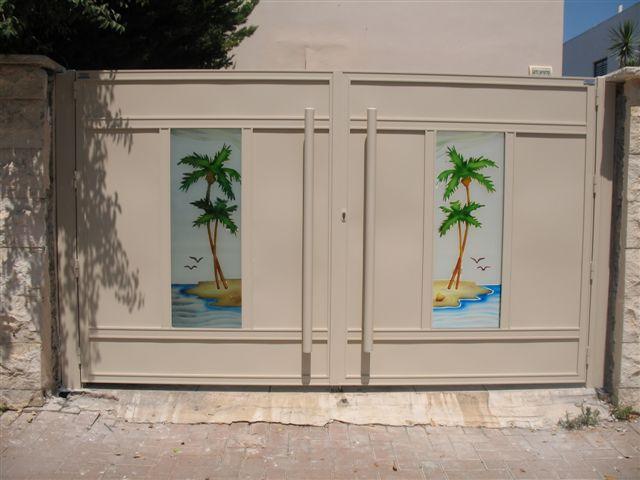שערים - שערים - זכוכית מעוצבת - שערים זכוכית מעצבת