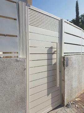 שערים - שערים סטריפים - שער כניסה דגם סטריפים והייטק