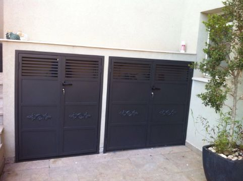 שערים - שערים פרופילים דגם הייטק - שער פרופילים דגם הייטק