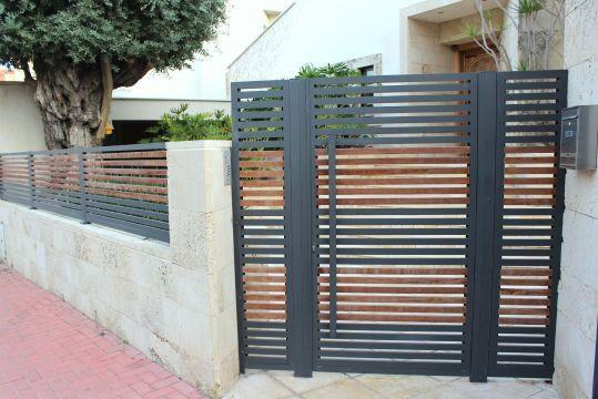 שערים - שערים פרופילים דגם הייטק - שער הייטק