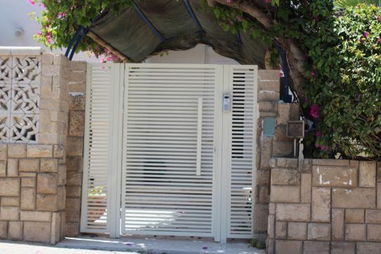 שערים - שערים פרופילים דגם הייטק - שער כניסה