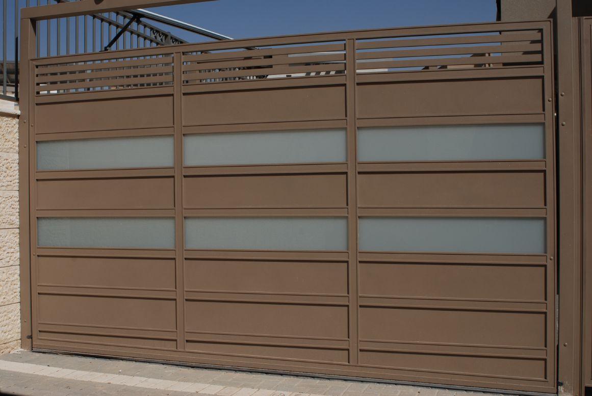 שערים - שערים פרופילים דגם הייטק - שער דגם הייטק