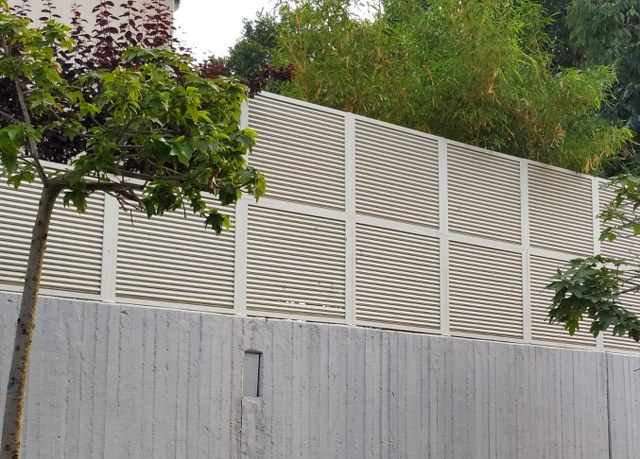 גדרות - גדרות הייטק - גדר הייטק אלכסוני