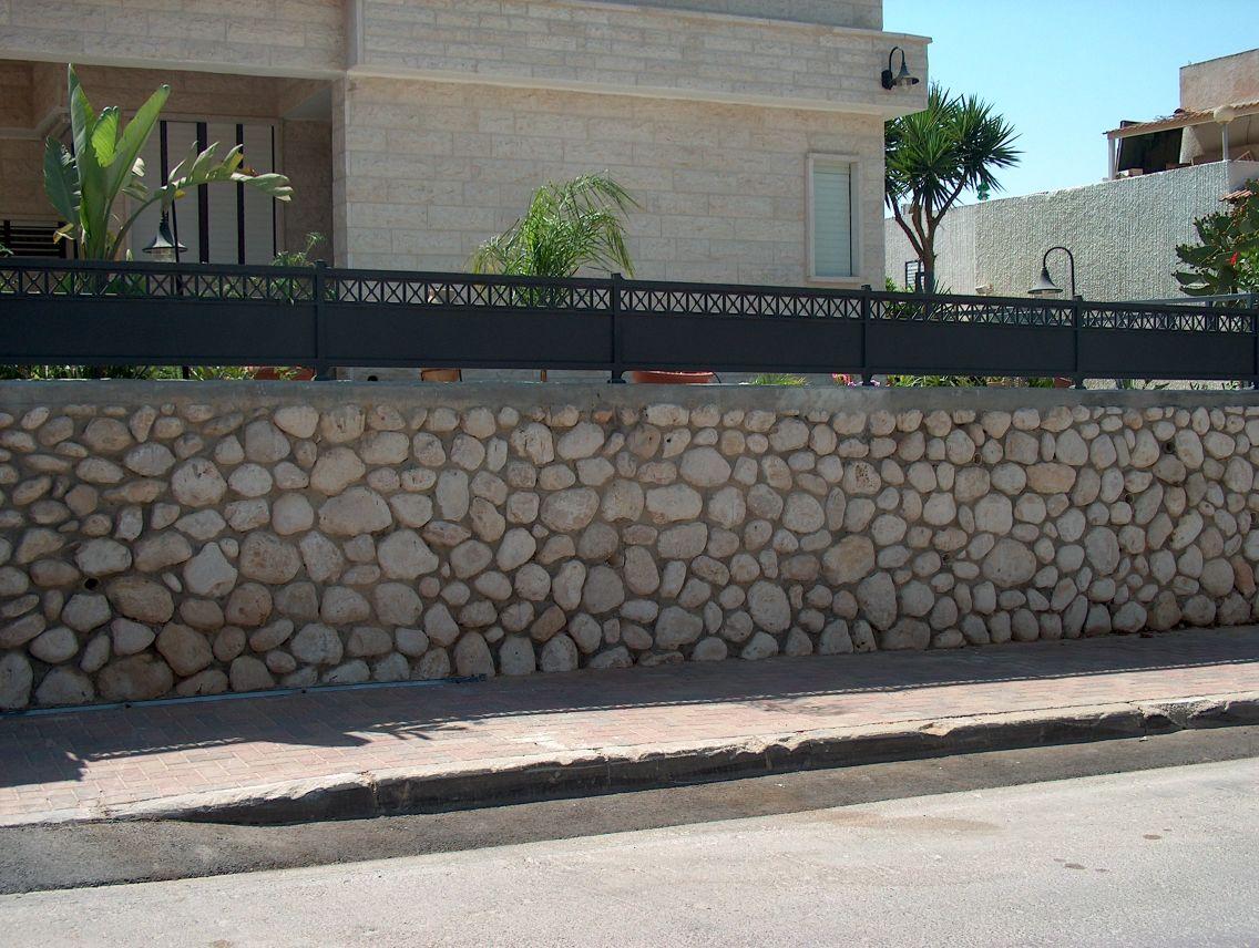 גדרות - גדר יציקות - גדר דגם אטום איקס