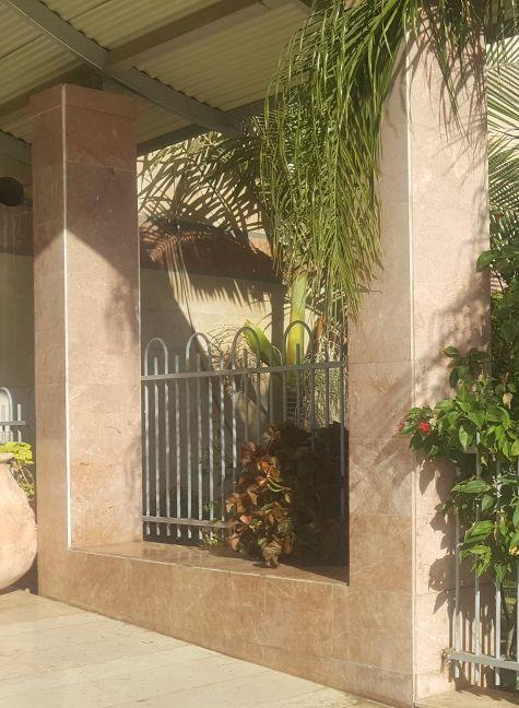 גדרות - גדר דגם דליה לחצרות ובתים משותפים - גדר דליה לוועד בית
