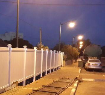 גדרות - גדר CPVC - גדר CPVC