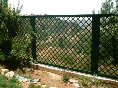 מעולה קבוצת רנסנס - עיצוב חוץ הבית - גדרות שערים פרגולות מאלומיניום CC-24