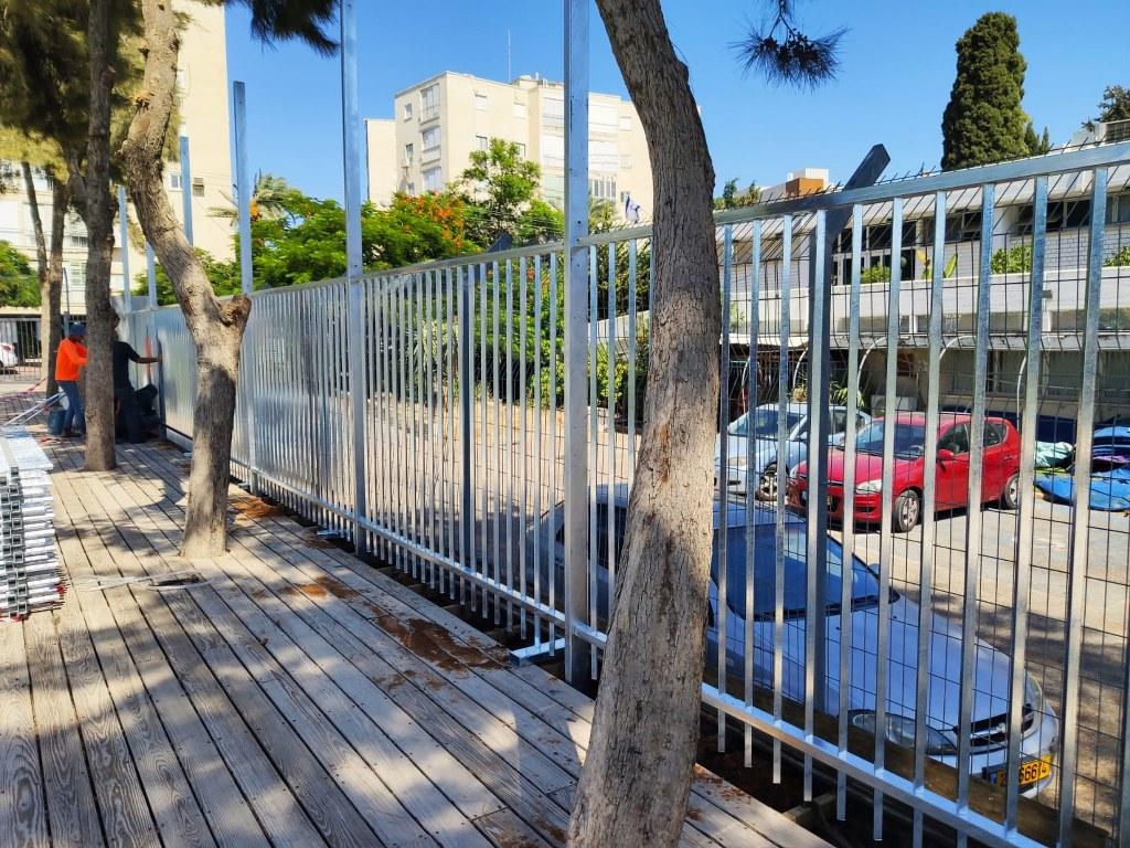 גדרות - גדרות מתכת - גדר מתכת דגם ערן