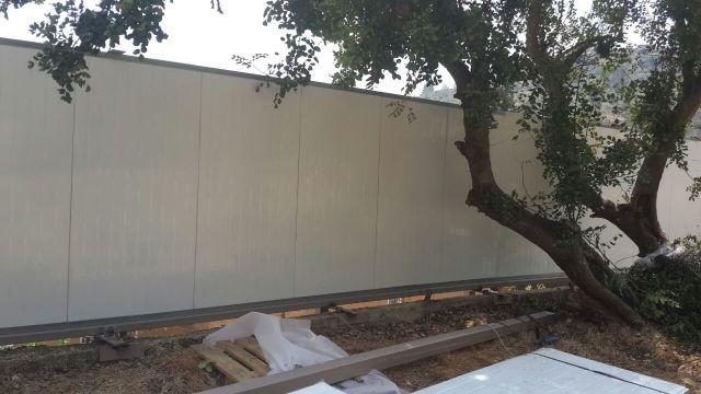 גדרות - גדרות אקוסטיות - גדר אקוסטית