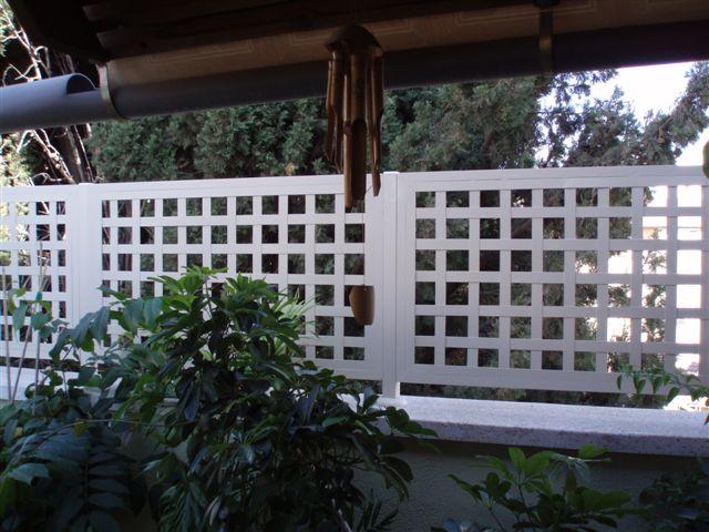מעקות - הגבהה למעקה מרפסת רשת - דגם אייל - הגבהה למעקה רשת- דגם אייל