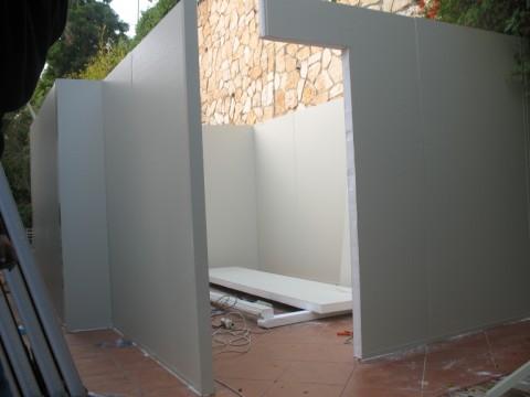 בנייה קלה - בניה קלה - תוספת חדר - בנייה קלה- סגירת חדר